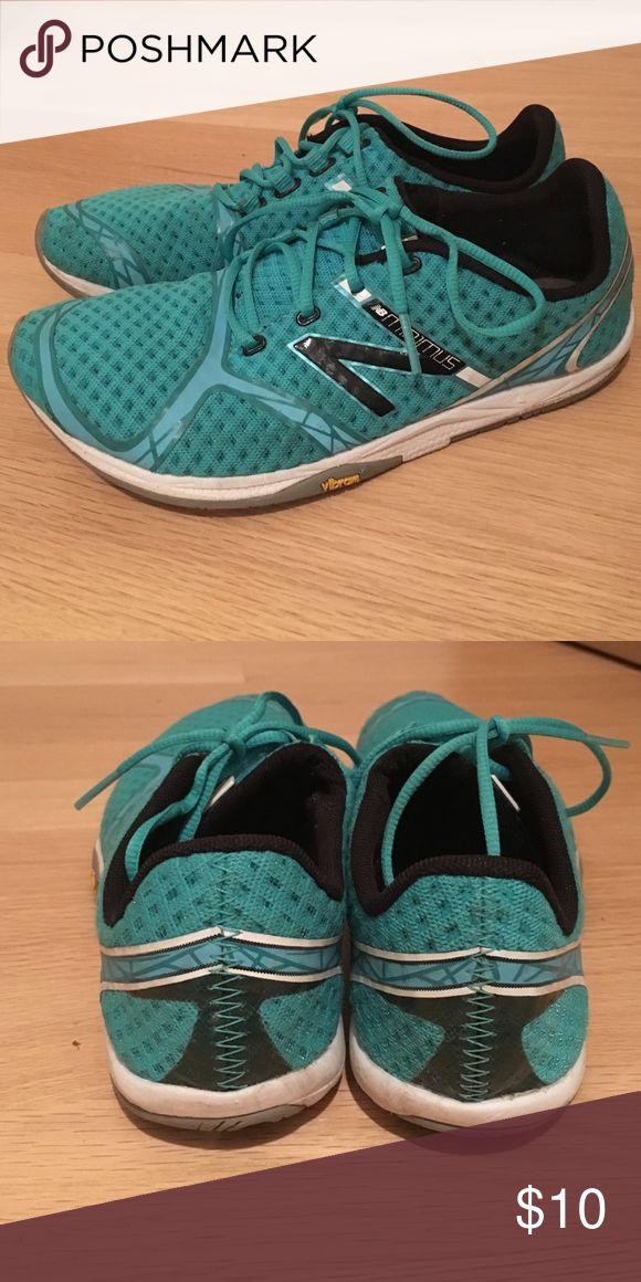 """Used Women's New Balance """"Minimus"""" Tennis Shoes Used Women's New Balance """"Minimus"""" Tennis Shoes, size 6.5, Teal Color New Balance Shoes Athletic Shoes"""