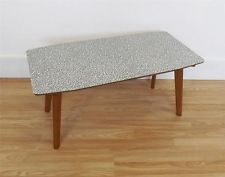 Formica coffee table retro vintage mid century atomic 50s 60s homestyle