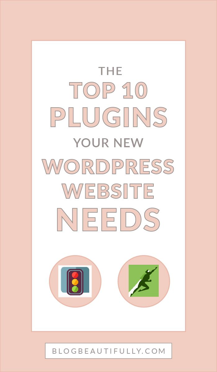 Not sure what plugins your new WordPress site needs? Don't miss this list of my top 10 plugins! Everything you need to create a beautiful and functional website. BlogBeautifully.com