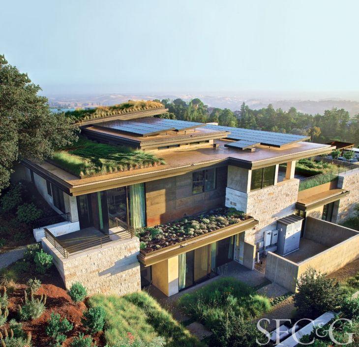Tour a Cool Eco Conscious Los Altos Hills