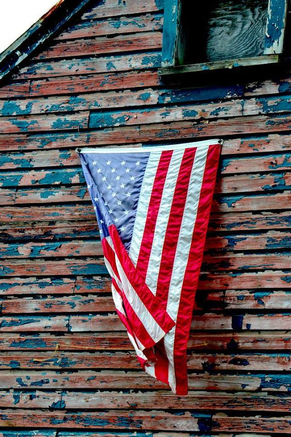 Old Glory is Country Living Photograph