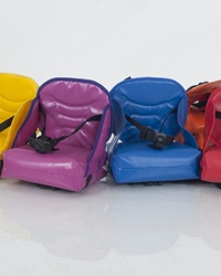 The Boosto booster chair is made of a high standard   durable material so that the chair always looks new.