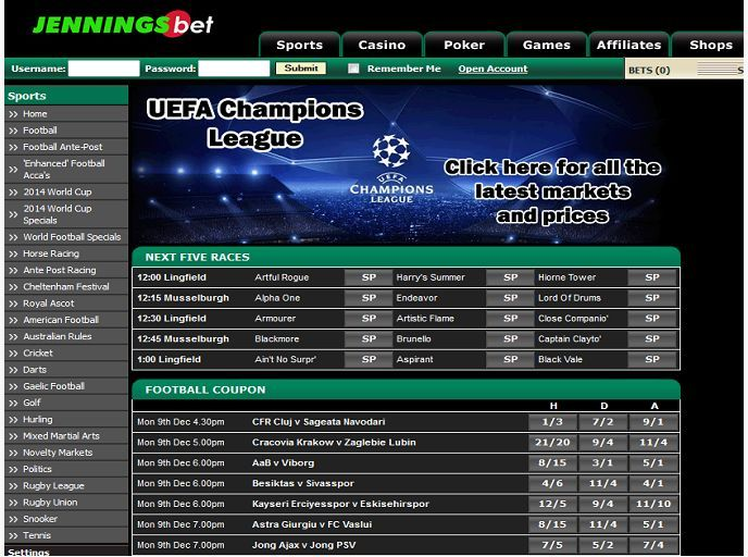 Founded in 1961, JenningsBet has built a well-deserved reputation as one of largest and most reliable bookmakers in the UK. Offering competitive odds on a variety of sports on a user friendly platform make them a top choice among punters. http://www.latestsportsbonuses.com/sportsbooks/jenningsbet/