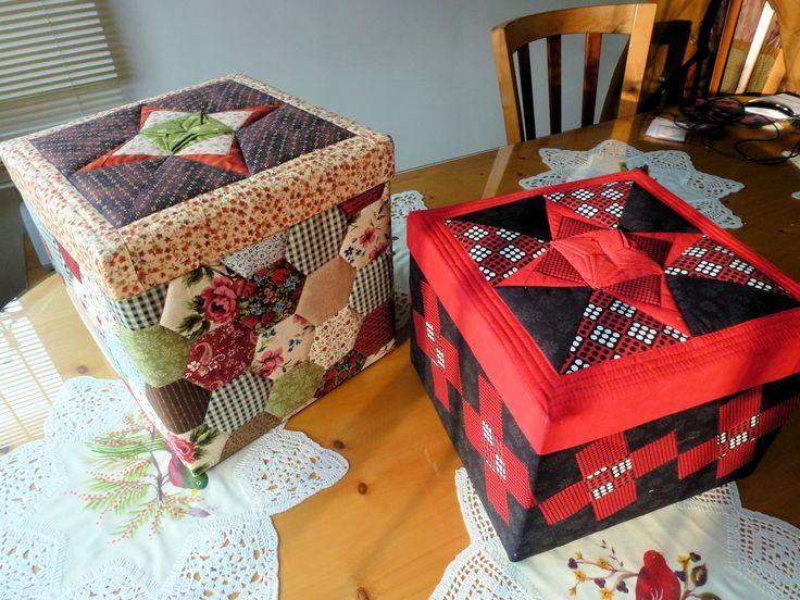 Cajas decorativas para costureros