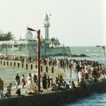 The Haji Ali Dargah, located in a small island in the big island city of Mumbai is the most popular tourist destination and more importantly a pilgrim site for people from all over the country and abroad.