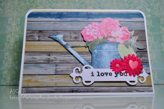 I love you by AliCards on Etsy, $4.50