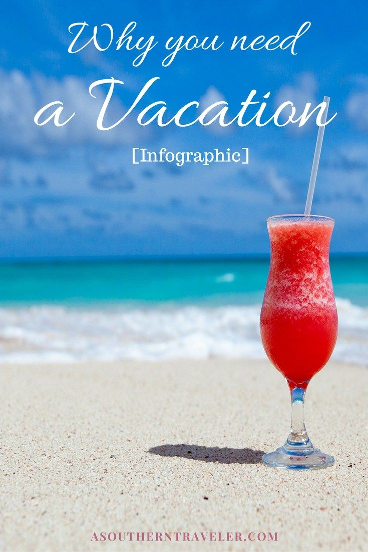Why you need a Vacation [Infographic]. Are you taking real vacations? Not just…