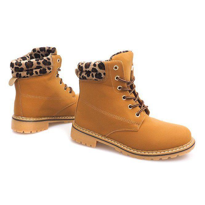 Jesienne Timberki Trapery 1 16 Yell Leo Brazowe Zolte Timberland Boots Boots Shoes
