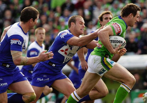 2008 Rd 26 - Canberra Raiders v Bulldogs - Colin Best