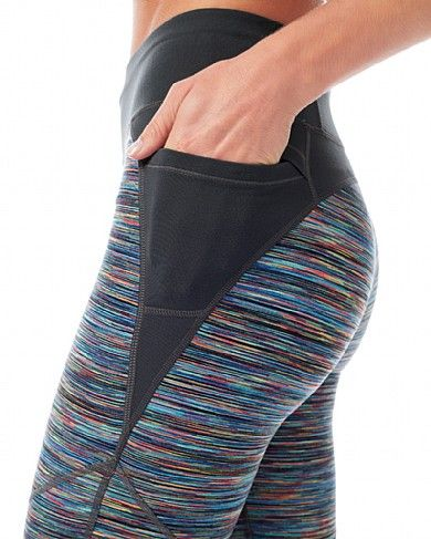 Lateral Run Leggings - SHREDDERSPACEDYE | leggings | Sweaty Betty