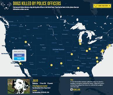 Puppycide Map