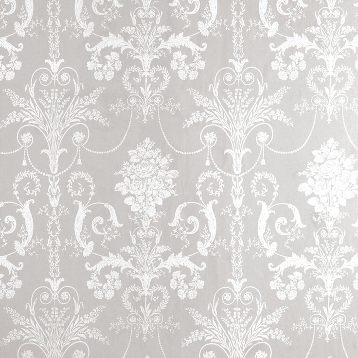 Gray and white wallpaper room bedroom wallpaper for Grey feature wallpaper bedroom