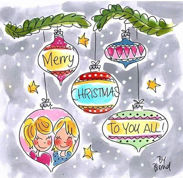 Merry Christmas # blond Amsterdam