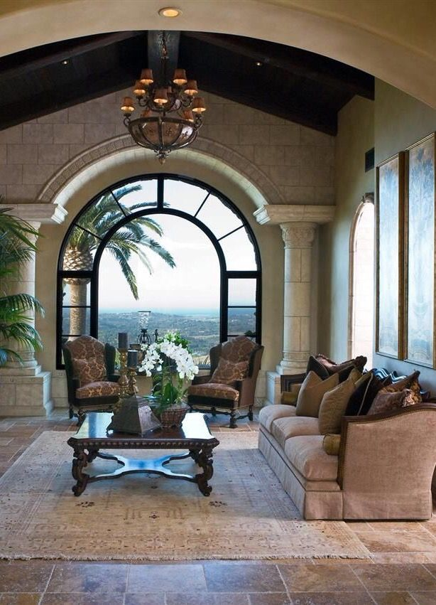 Living Room - Stunning Window...keeper for outdoor living space ideas...cherie
