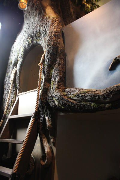 Monster Mud Tree for the Peter Pan Room