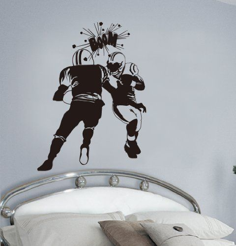 Best American Football Wall Stickers  Decals Images On - Boat decals amazon   easy removal