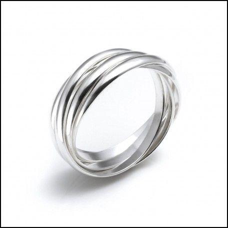 Platinum Russian Wedding Ring