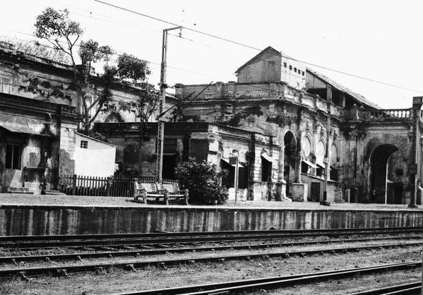 Royapuram Raiway Station.