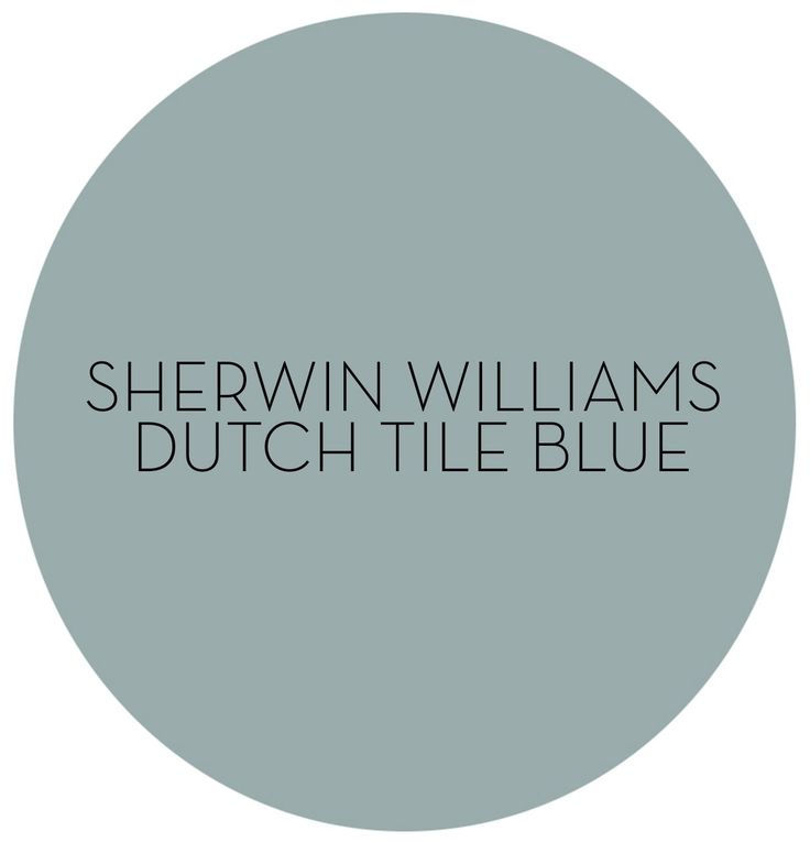 **Hello, Color! How to Decorate with Sherwin-Williams Dutch Tile Blue