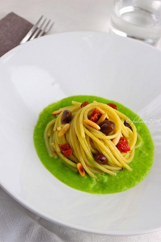 FeelCook cucina per passione: Spaghetti alla crema di scarola