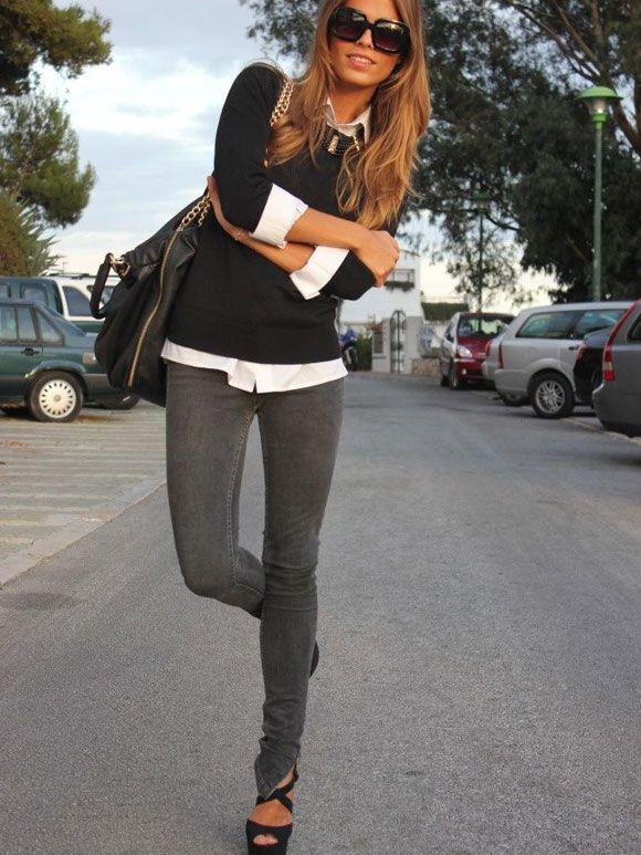 Fashion Fix: Grijze jeans