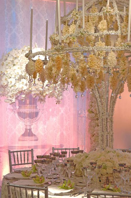 Preston Bailey Wedding Creations for a devine wedding table style #wedding