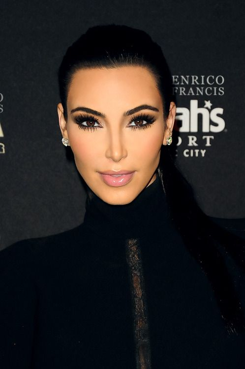 Kim k, beyond perfect face.