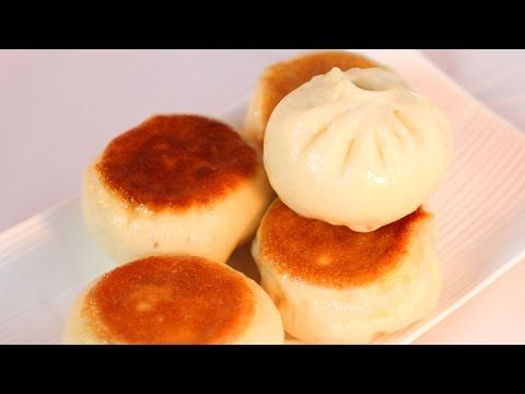 Fried Pork Buns Recipe /水煎包/生煎包/生煎饅頭 - YouTube