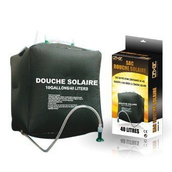 Linxor ® Sacca doccia solare 40L per campeggio o altro... - Norma CE