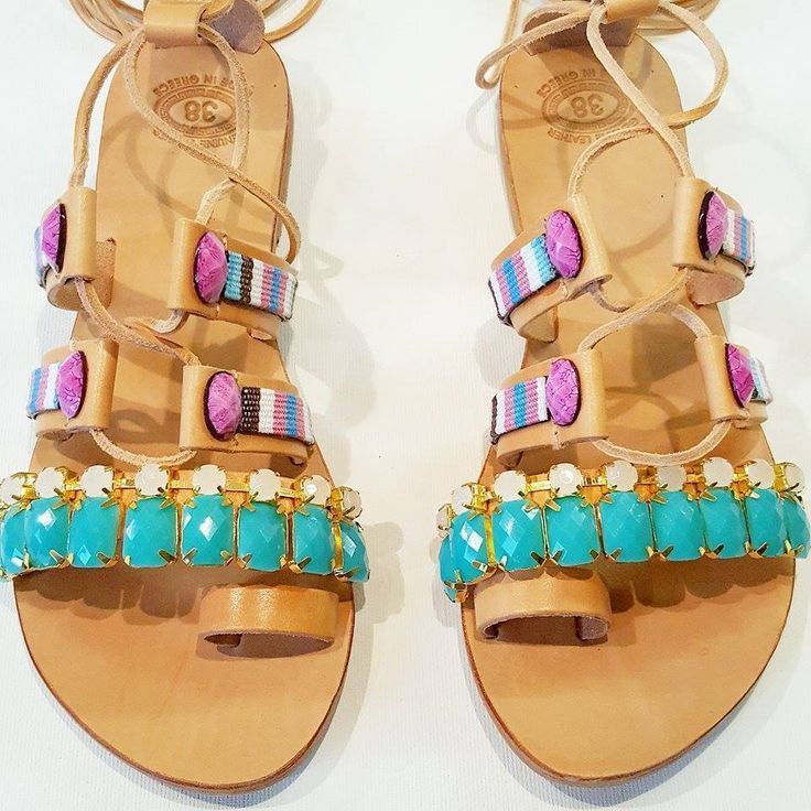 YOH Mulan sun-dolls by De.L'art - Greek handmade sandals