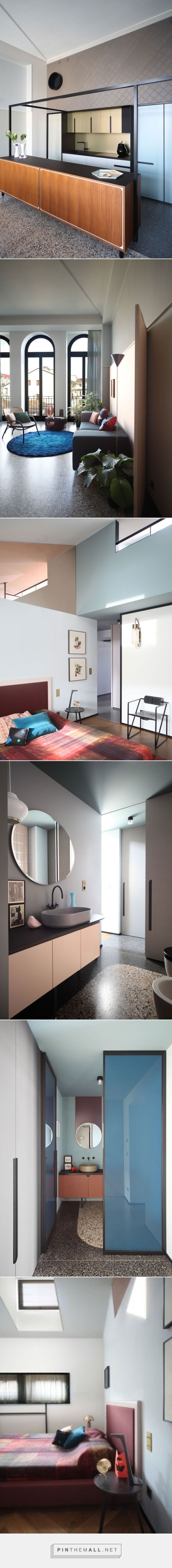 'History Repeating' Apartment in Turin, Italy by Marcante-Testa
