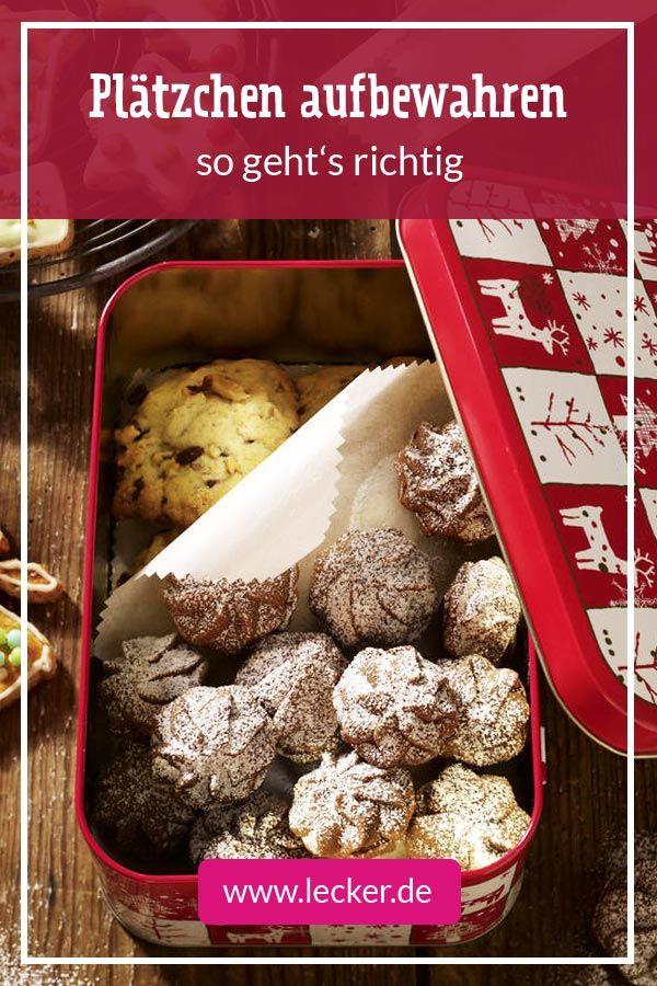 Weihnachtsplätzchen Lecker De.Plätzchen Aufbewahren Die Besten Tipps Klassische