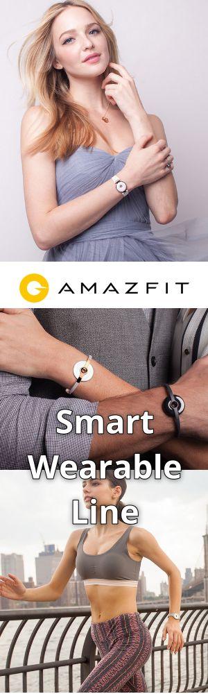Xiaomi backed Amazfit smart wearable line by Huami is now official. Teknoloji estetikle buluştu.