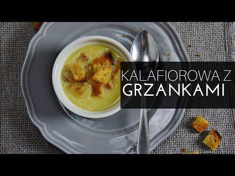 Zupa kalafiorowa z grzankami - szybka zupa codzienna – Thermomania