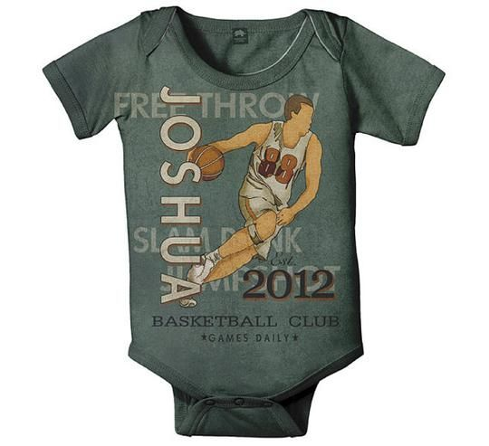 61 best cute custom onesies for your baby images on pinterest this personalized vintage basketball onesie is perfect for sports fans its a unique memorable gift shop myretrobab for trendy baby clothes gifts now negle Choice Image