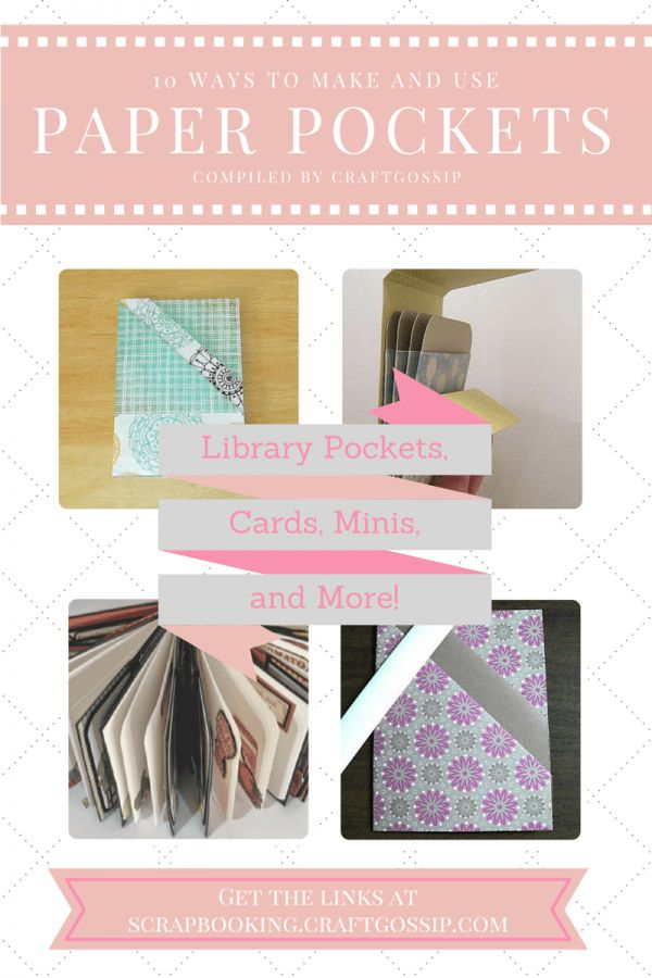 Paper pockets are very useful embellishments for scrapbookerss, card makers and other paper crafters. We can use them for holding journaling and embellishments, as a way to gift photos or gift card…