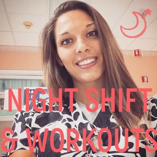 Working Night Shift and Fitness. Great advice to stay consistent at the gym while working crazy a schedule!! | a health & fitness blog