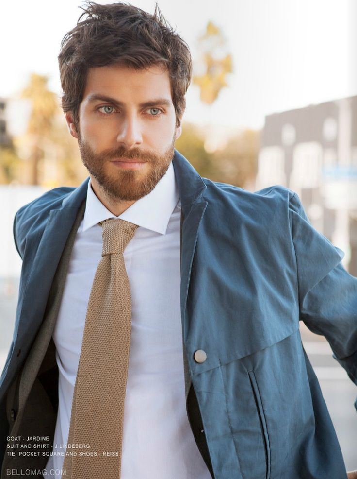 David Giuntoli (Nick Burkhardt) on Grimm, my favorite show, looks fab in scruff mode.