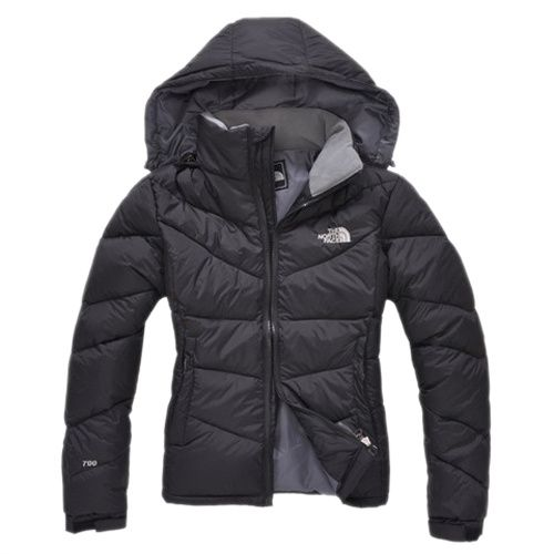 Clearance Sale Black North Face Down Jackets For Womens 2013