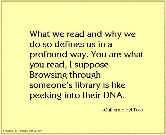 Which is why people at school who only read the boring books you're force to read, remain boring people you're forced to be around.