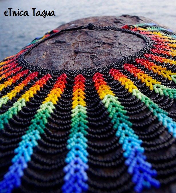 Collar con Chaquiras Chocó - Colombia