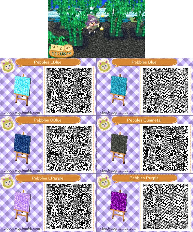 Animal Crossing Qr Pebbles 33 By Cloudyrei On Deviantart T