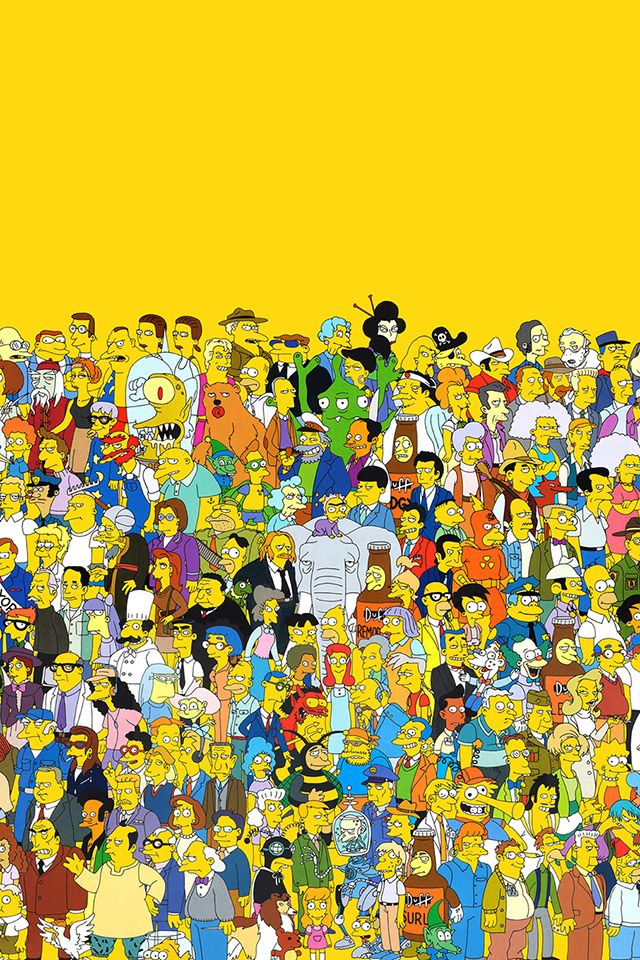 iphone wallpaper ipad parallax thesimpsons download