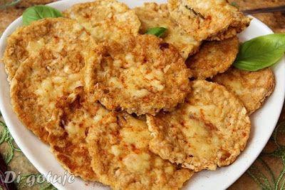 Di gotuje: Wafle ryżowe w jajku z żółtym serem (tosty, placus...