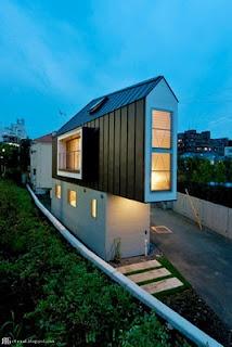 Super slim σπίτι στο Τόκιο - Ιαπωνία
