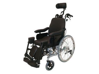 #Multifunctionele #rolstoel Multitec- zonder trommelrem - Zitbreedte 39 cm Art. nr.: 900950100  De veelzijdig inzetbare multifunctionele rolstoel  De zithoek kan traploos ingesteld worden door de gasveer De ergonomische rugleuning kan traploos onafhankelijk worden ingesteld van de zitting d.m.v. een gasveer Zitdiepte is traploos instelbaar