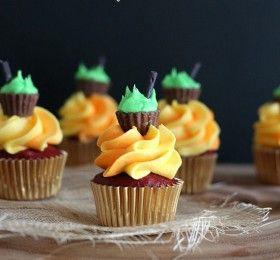 9 Halloween Cupcake Treats