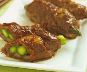 Beef Asparagus Rolls, YAKIMONO - GRILLED & PAN-FRIED, Japanese Recipe, Japanese Food Recipe