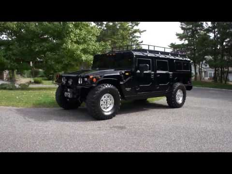 (12) 1998 Hummer H1 AM General Wagon For Sale~Loads Of Extras~Exceptionally Clean Beautiful Truck - YouTube