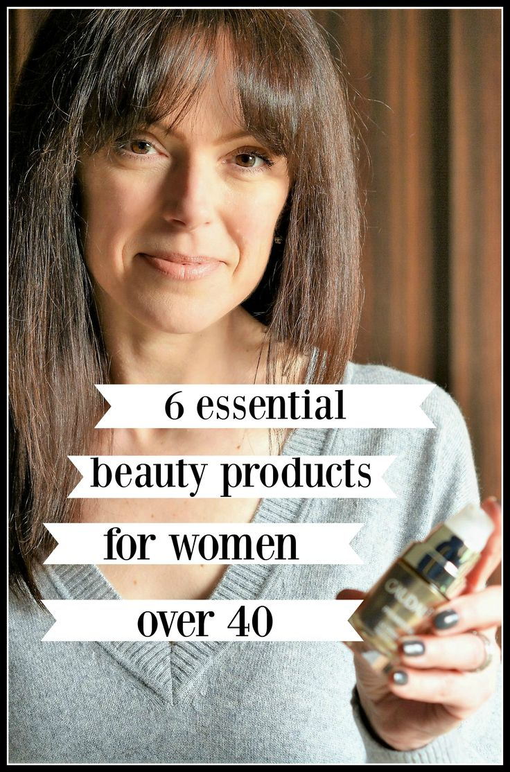 6 essential beauty products for women over 40 | changing skin routine in menopause | Caudalie skincare